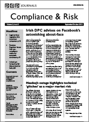 Compliance & Risk Homepage