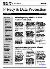 Privacy & Data Protection Journal